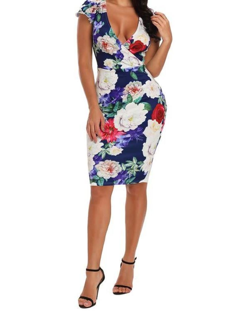 A Floral Story Dress
