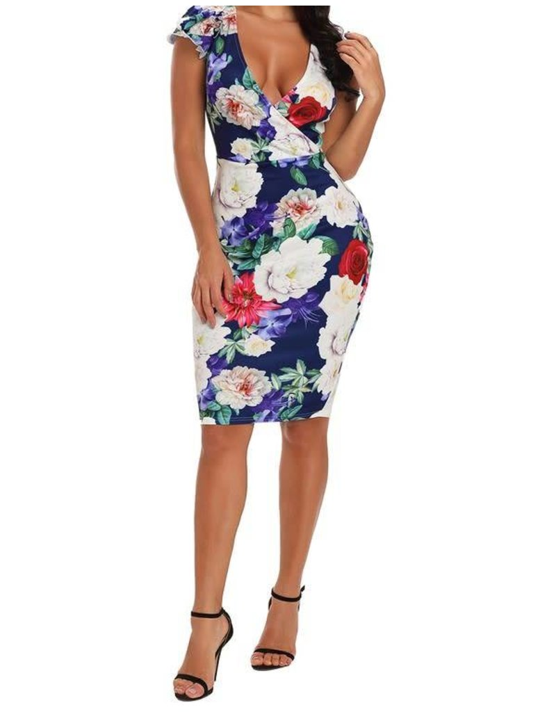 A Floral Story Dress