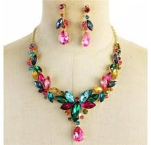 Color Explosion Necklace Set