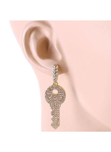 Major Key Alert Earrings