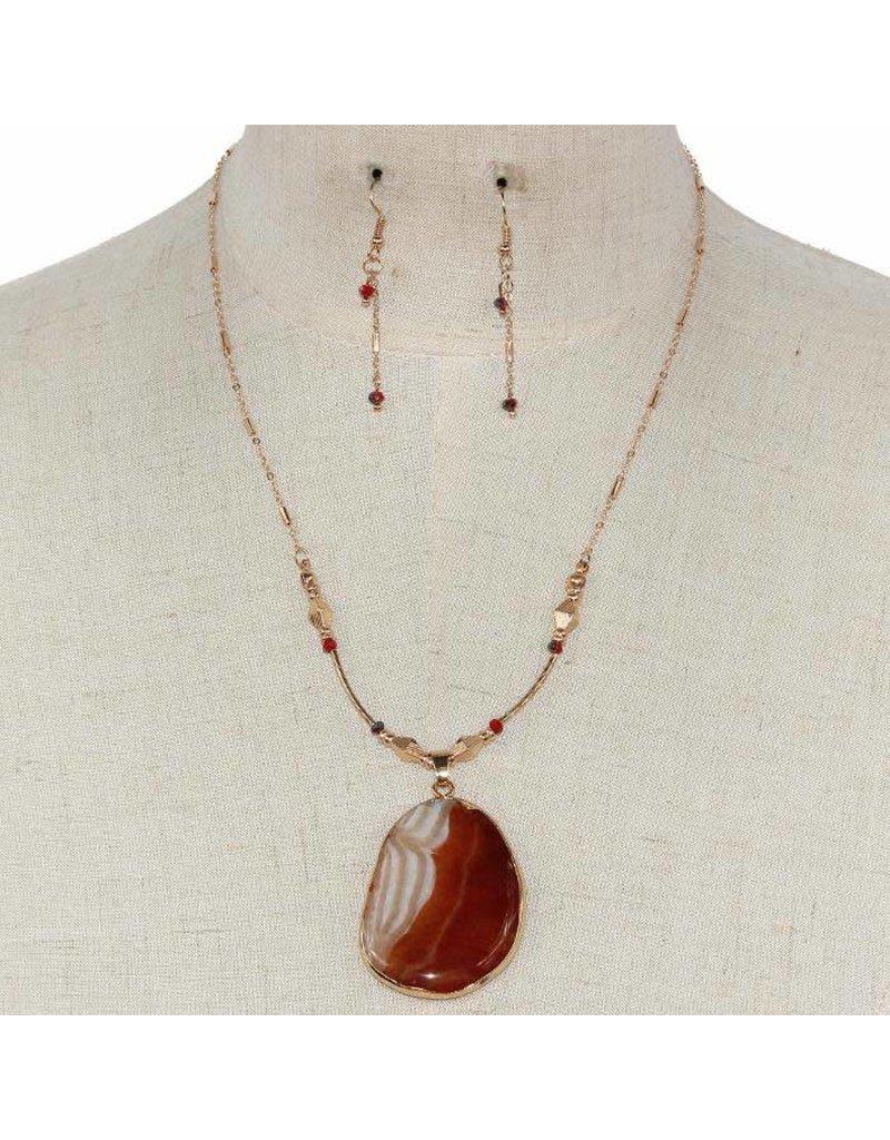 Stone Adventure Necklace Set
