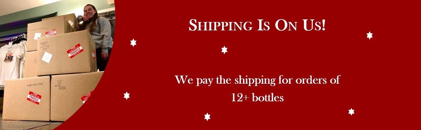 Free Shipping 12+