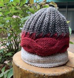 Cappelleria Bertacchi Toque three knitting