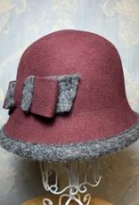 Cappelleria Bertacchi Felt Cloche Boiled wool edge
