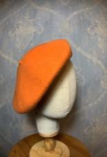 Cappelleria Bertacchi Beret Pumpkin