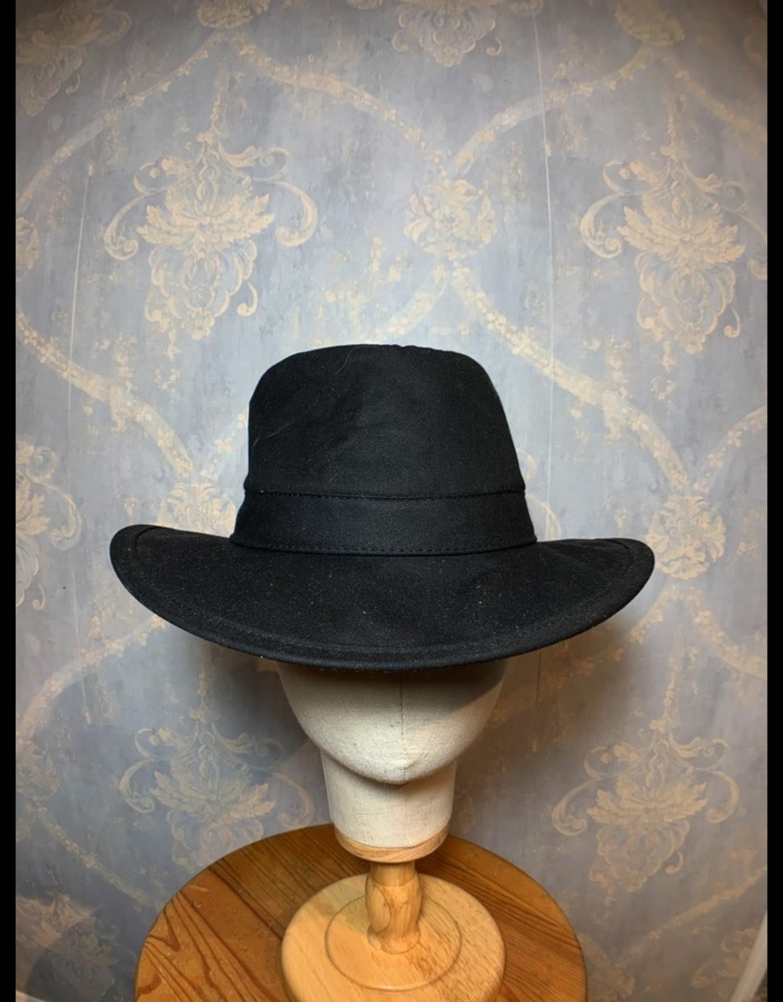 Cappelleria Bertacchi Outback Hat Black