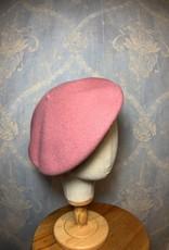 Cappelleria Bertacchi Beret Vintage Pink