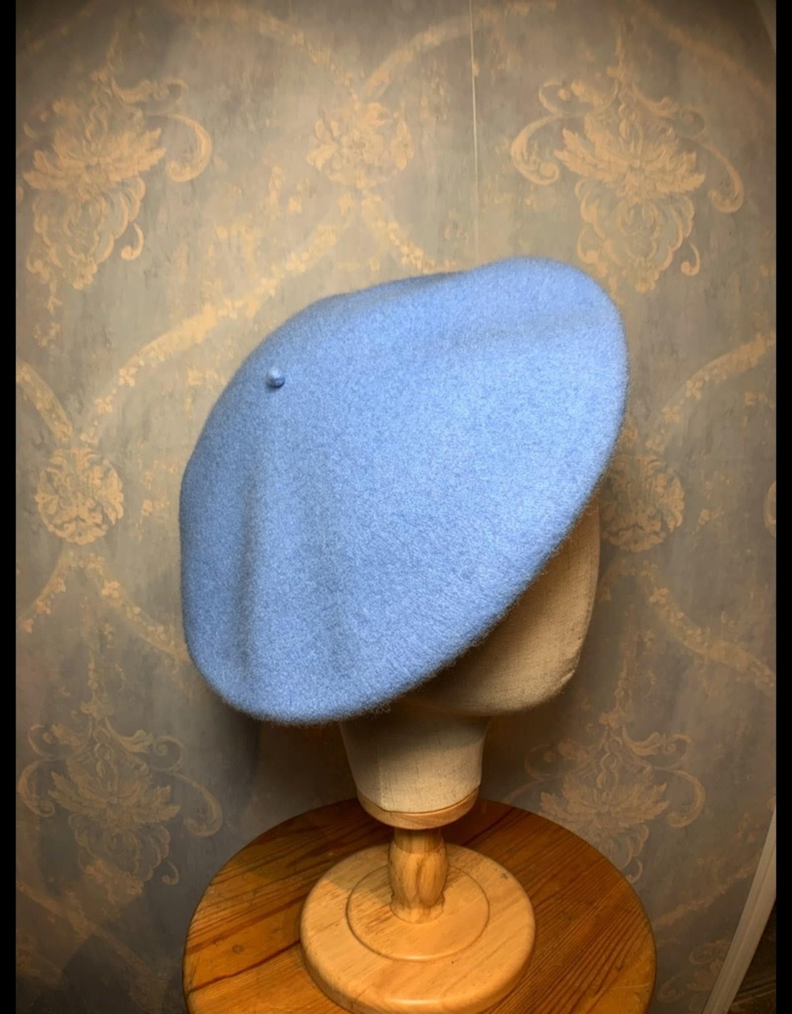 Cappelleria Bertacchi Beret Light Blue