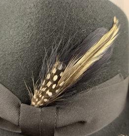 Feathers Black slim