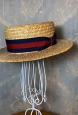 Cappelleria Bertacchi Boater Striped Band
