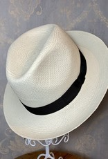 Cappelleria Bertacchi Panama Western Fedora Black Band
