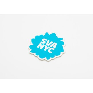 SVA Splat Logo Sticker