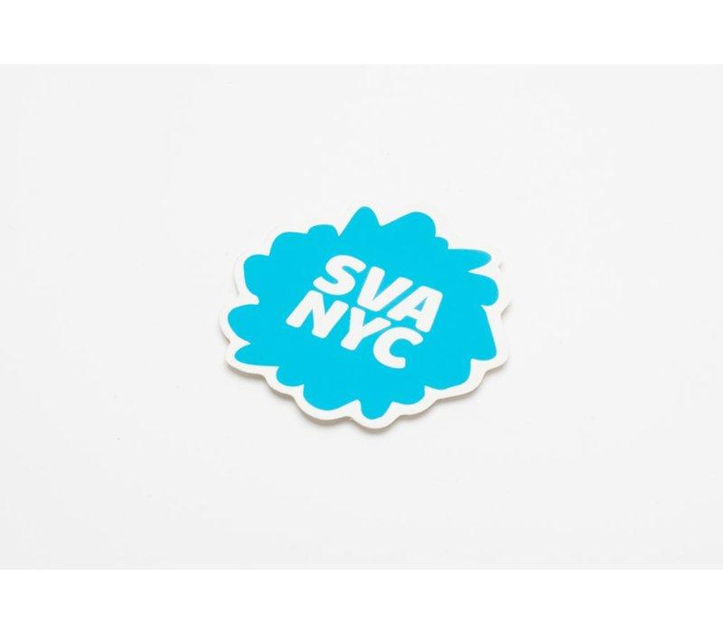 SVA Splat Logo Sticker