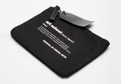 """Definition"" Zip Pouch"