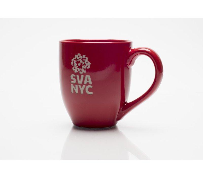 SVA Logo Mug - Red