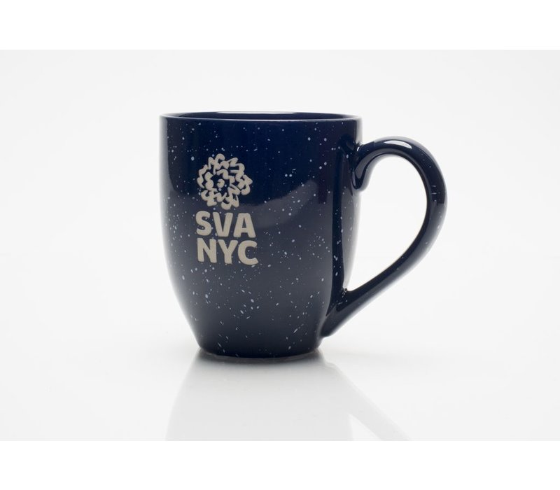 SVA Logo Mug - Navy Speckled