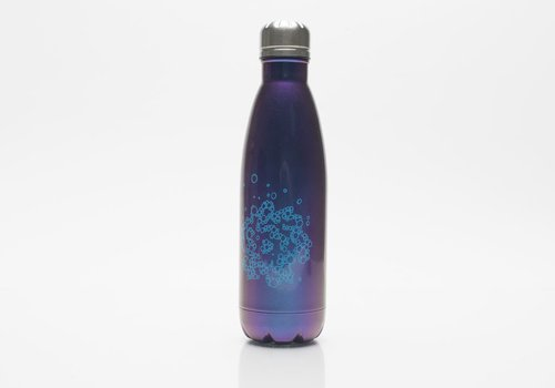 SVA Bubble Flower Bottle - Blue Iridescent