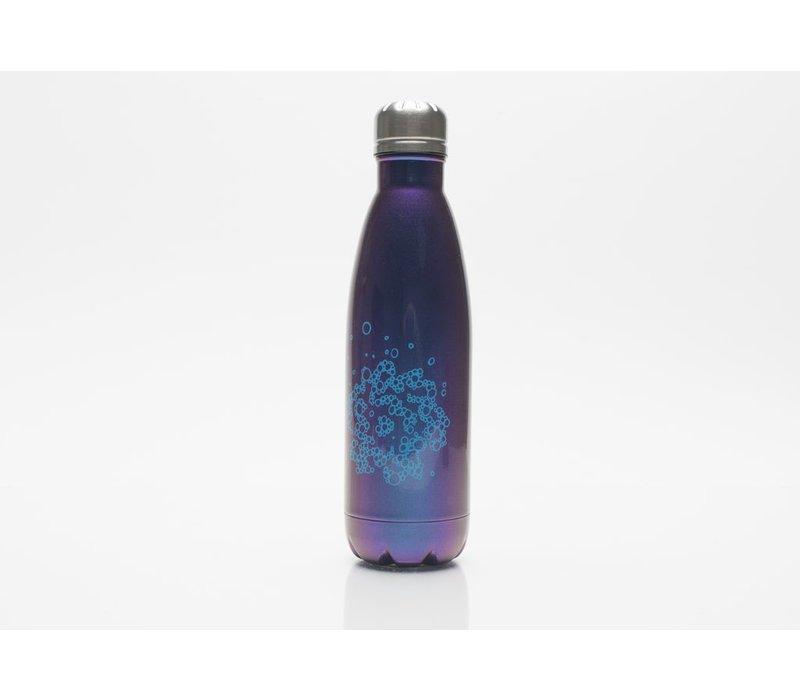 SVA Bubble Flower Bottle - Blue Iridescent