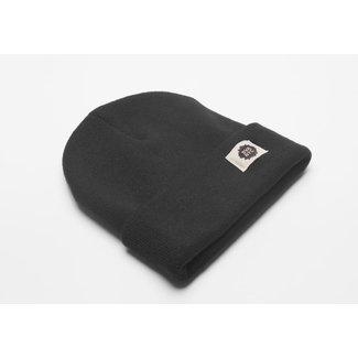 SVA Logo Cuff Beanie - Black