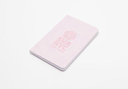 SVA Logo Notebook - Pink