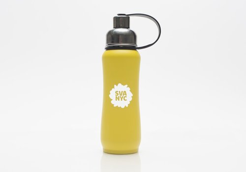 SVA Splat ThinkSport Stainless Steel Bottle w/ Filter - Yellow