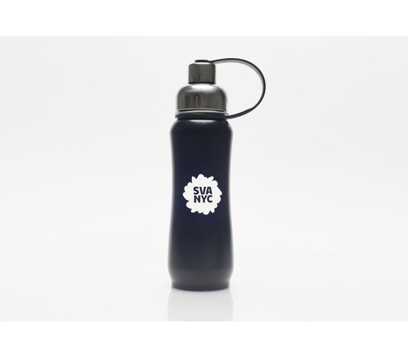 SVA Splat ThinkSport Stainless Steel Bottle w/ Filter - Black