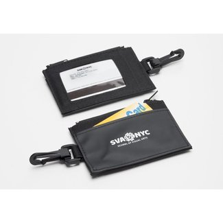 SVA Logo Zip Wallet / ID Holder