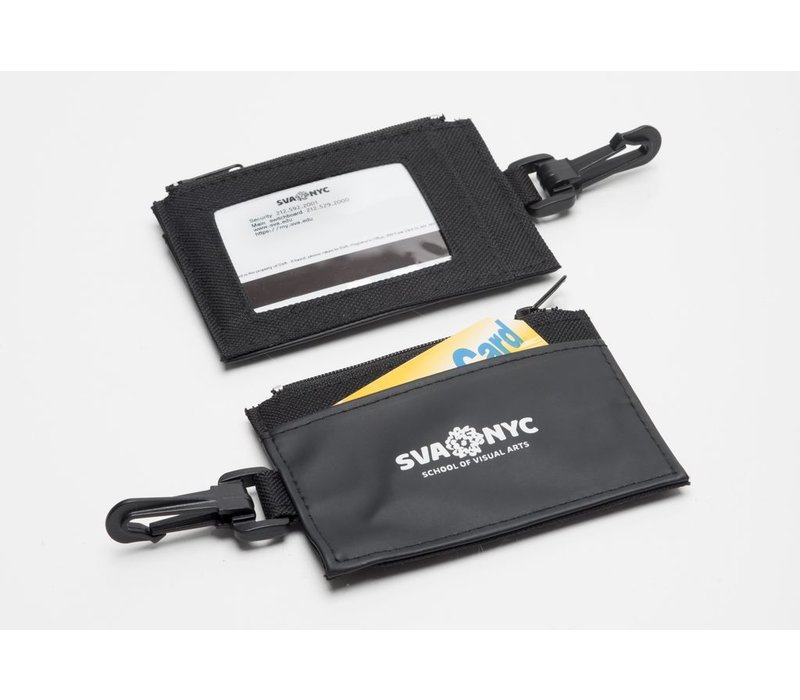 SVA Logo Zip Wallet / ID Holder