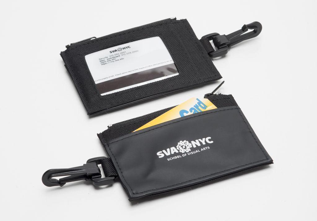 05d85c417afd SVA Logo Zip Wallet / ID Holder