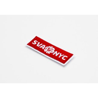 SVA Box Logo Embroidered Sticker Patch