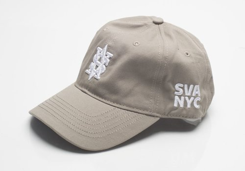 Monogram Dad Cap (Khaki)