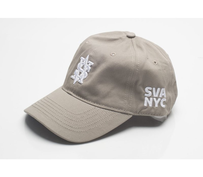 Monogram Dad Cap - Khaki