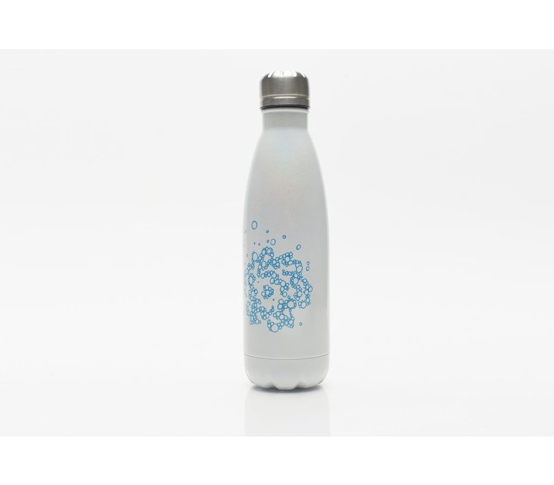 SVA Bubble Flower Bottle - White Iridescent