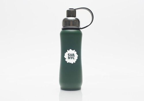 SVA Splat ThinkSport Stainless Steel Bottle w/ Filter - Green