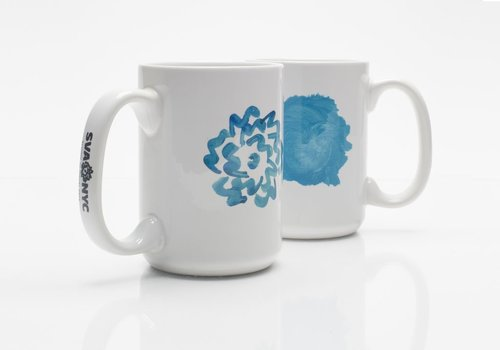 SVA Painted Flower Mug