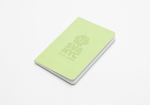 SVA Logo Notebook - Lime Green