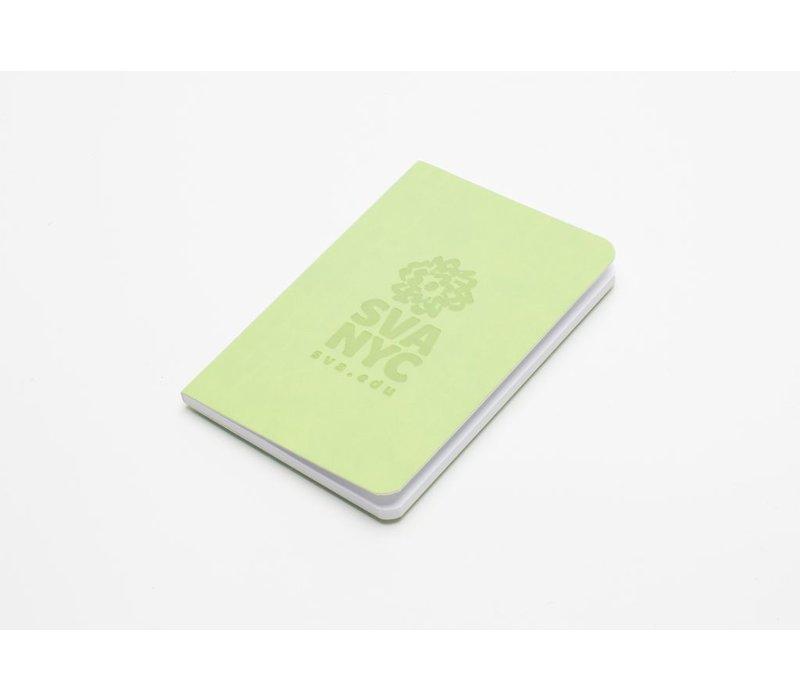 SVA Logo Notebook - Lime Green