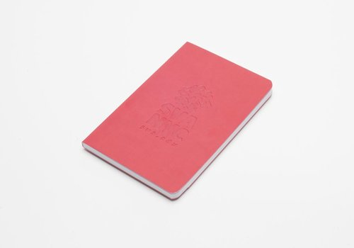SVA Logo Notebook - Deep Red