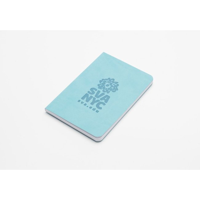 SVA Logo Notebook - Aqua Blue