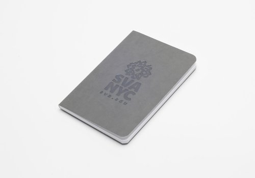 SVA Logo Notebook - Light Gray