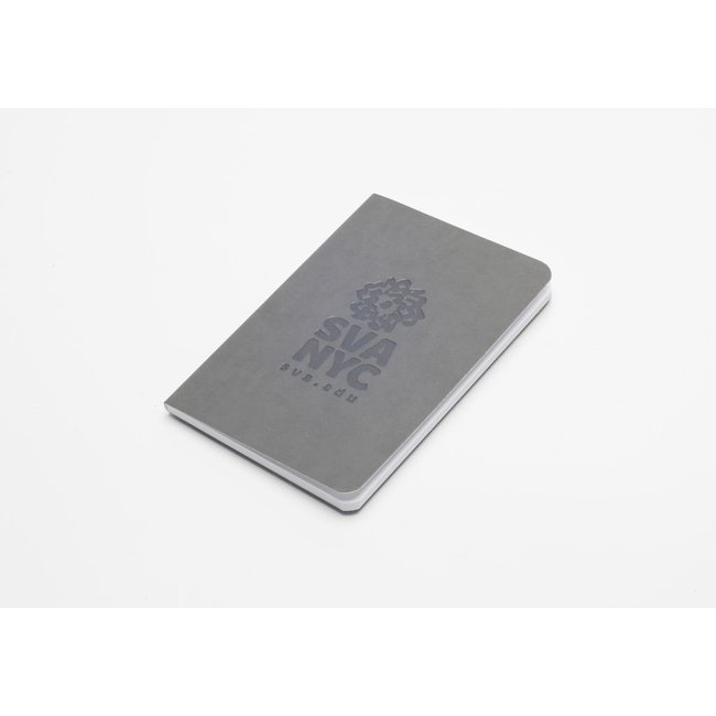 SVA Logo Notebook - Light Gray