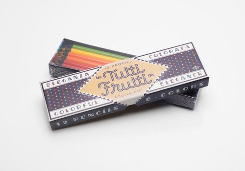 Tutti Frutti Pencils Box Set by Louise Fili