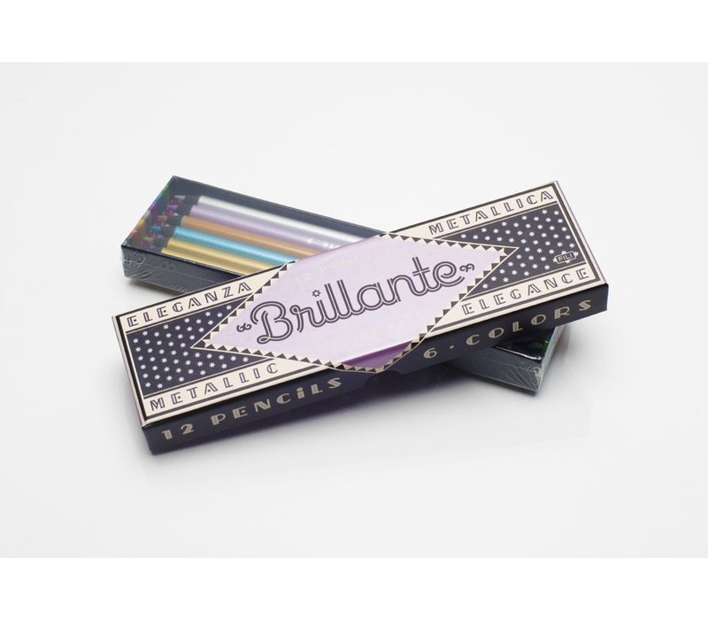 Brillante Pencils Box Set by Louise Fili