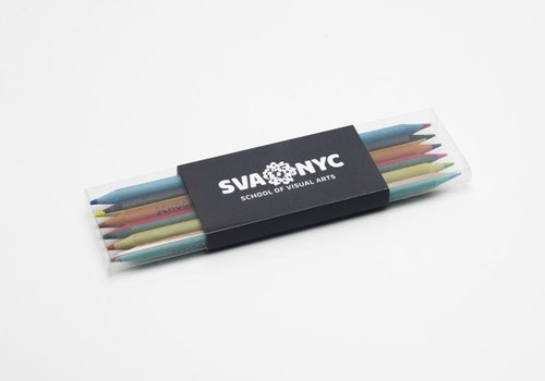 SVA Bi-Colored Pencils - Set of 6