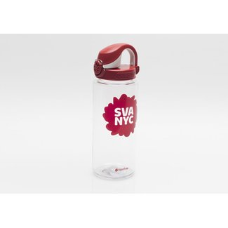SVA Splat Logo Nalgene Atlantis Bottle - Red