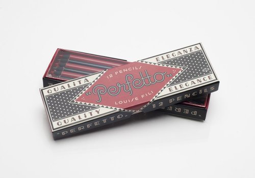 Perfetto Pencils Box Set by Louise Fili