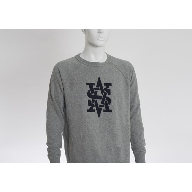 SVA Benguiat Monogram Stadium Crewneck Sweatshirt (2 Colors)