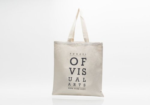 SVA Eyechart Tote - Natural