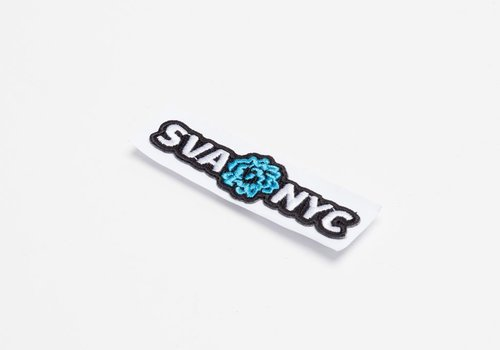 SVA Logo Embroidered Sticker Patch