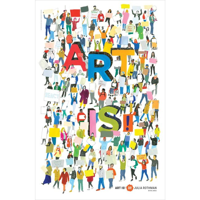 Julia Rothman - Art Is!